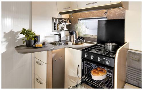 2020 Burstner Lyseo TD Harmony Line Motorhome - Interior Photo - Kitchen 1