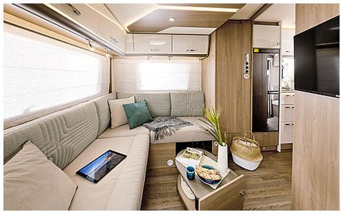 2020 Burstner Lyseo TD Harmony Line Motorhome - Interior Photo - Lounge 2