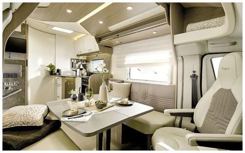 2020 Burstner Lyseo TD Harmony Line Motorhome - Interior Photo - Lounge 1