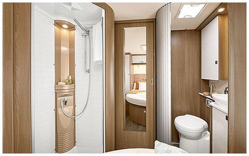 2020 Burstner Lyseo TD Harmony Line Motorhome - Interior Photo - Toilet and Shower