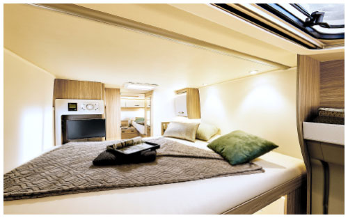 2020 Burstner Lyseo Time T Limited - Low-Profile Motorhome - Central Electric Drop-Down Bed