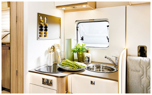 2020 Burstner Lyseo Time T Limited - Low-Profile Motorhome - Kitchen View