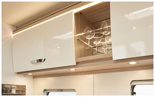 2020 Burstner Lyseo Time T Limited - Low-Profile Motorhome - Kitchen-Glasses-Holder