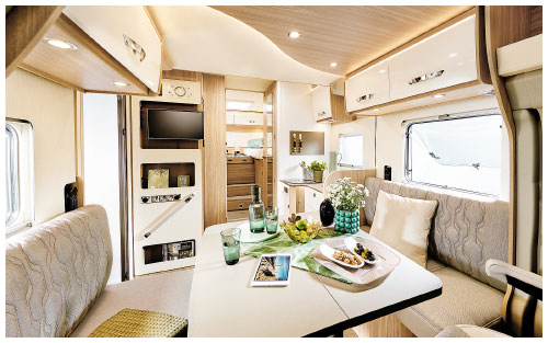 2020 Burstner Lyseo Time T Limited - Low-Profile Motorhome - Lounge View