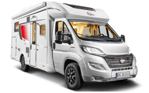 2020 Burstner Lyseo Time T Limited - Low-Profile Motorhome - Exterior Photo - Front View
