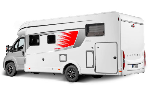 2020 Burstner Lyseo Time T Limited - Low-Profile  Motorhome - Exterior Photo - Rear View