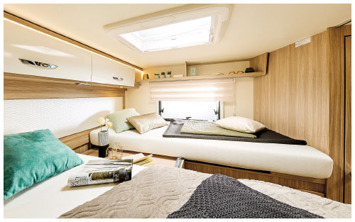2020 Burstner Lyseo Time T Limited - Low-Profile Motorhome - Rear Twin Single Beds