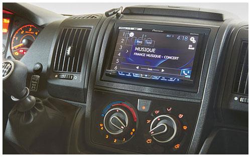 2020 Burstner Travel Van - Low-Profile Motorhome - Cab Centre Console