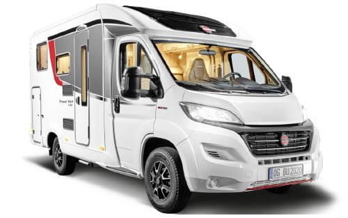 2020 Burstner Travel Van - Low-Profile Motorhome - Exterior Photo - Front View