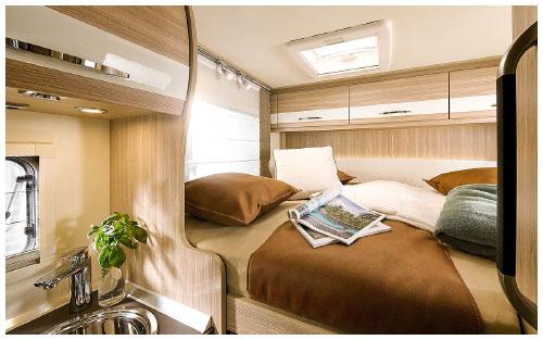 2020 Burstner Travel Van - Low-Profile Motorhome - Rear Transverse Bed