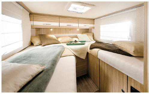 2020 Burstner Travel Van - Low-Profile Motorhome - Rear Twin Single Beds