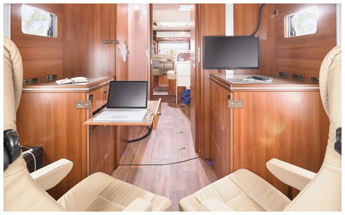 2020 Carthago Liner-For-Two A-Class Motorhome - Cab Office