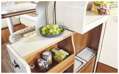 2020 Carthago Liner-For-Two A-Class Motorhome - Kitchen Storage