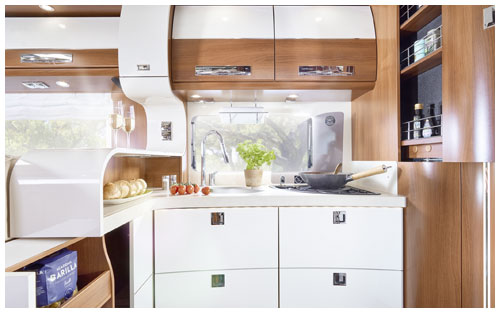 2020 Carthago Liner-For-Two A-Class Motorhome - Kitchen