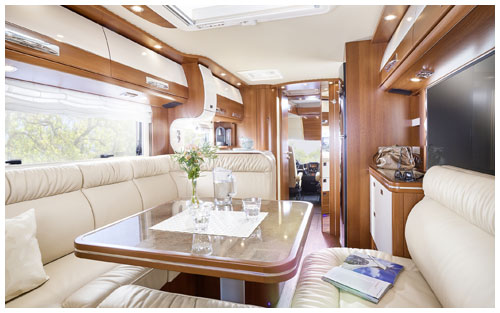 2020 Carthago Liner-For-Two A-Class Motorhome - Lounge 1
