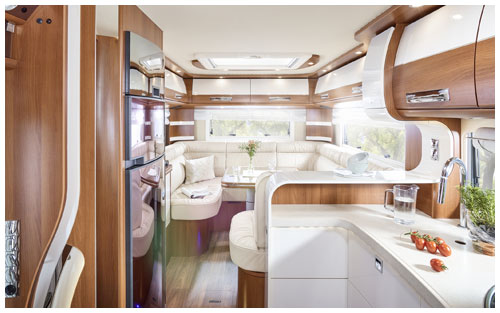 2020 Carthago Liner-For-Two A-Class Motorhome - Rear Lounge and Kitchen
