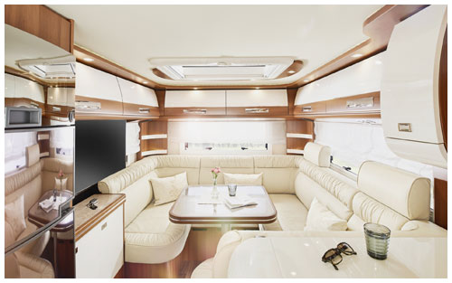 2020 Carthago Liner-For-Two A-Class Motorhome - Rear Lounge