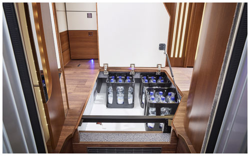 2020 Carthago Liner-For-Two A-Class Motorhome - Under Floor Storage