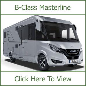 Hymer B-Class Masterline Motorhomes