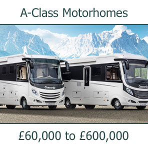 A-Class Motorhomes For Sale