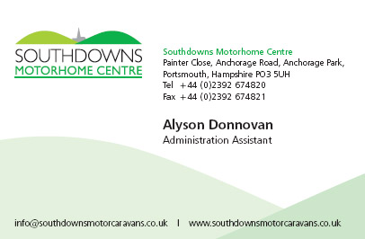 Alyson Donnovan Business Card