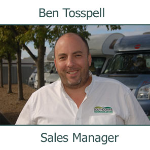 Ben Tosspell, Sales Manager
