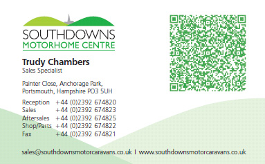 Trudy Chambers Sales Specialist Business Card